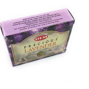 Hem Incense Cones Precius Lavender 2 Box